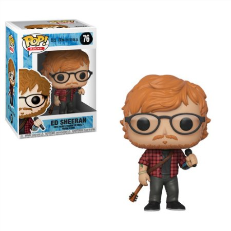 Funko Pop! - Rocks - Ed Sheeran #76