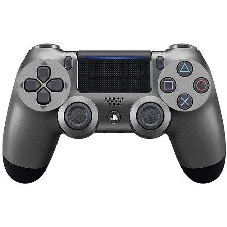 Controle Dualshock 4 Preto Metálico - PS4