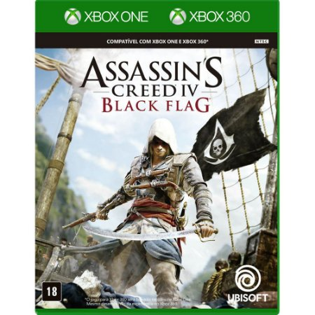 Jogo Assassins Creed IV - Black Flag - Xbox One