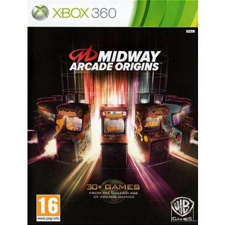 Jogo Midway Arcade Origins Xbox 360