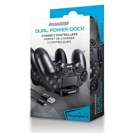 Charger Dual Power Dock - Ps4