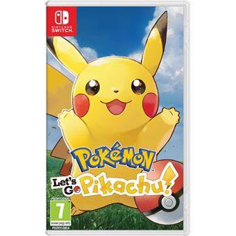 Pokemon: Lets Go Pikachu - Switch