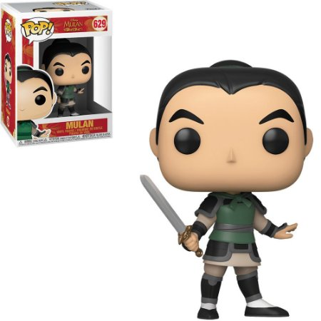 Funko Pop Disney Mulan Live Mulan As Ping 629