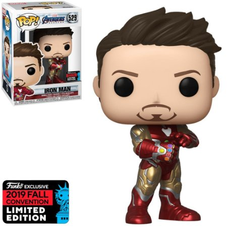 Funko Pop! Marvel - Avengers Endgame - Iron Man Edição Limitada #529