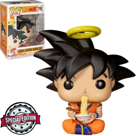 Funko Pop! Dragon Ball Z -  Goku W/Eating Noodles #710