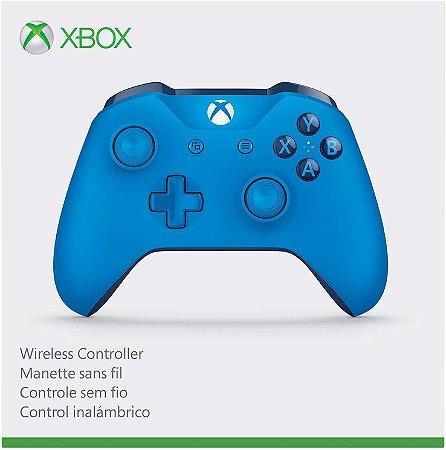 Controle sem Fio Xbox One -  Edição Especial Azul