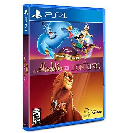 Jogo Disney Aladdin e Rei Leão - PS4
