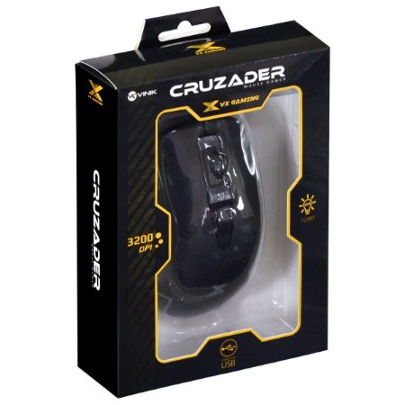 Mouse Gamer VX Gaming Cruzader 3200 DPI