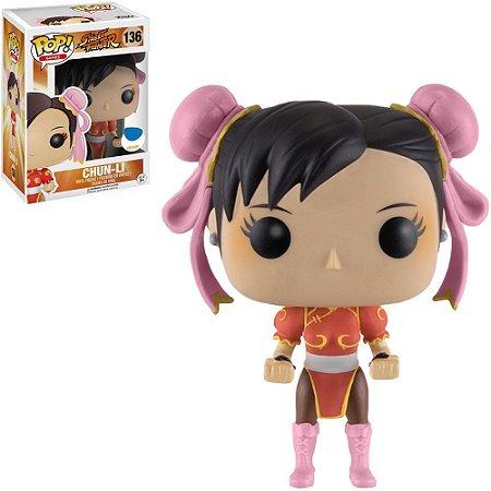 Funko Pop! Street Fighter - Chun-Li Tees Red #136