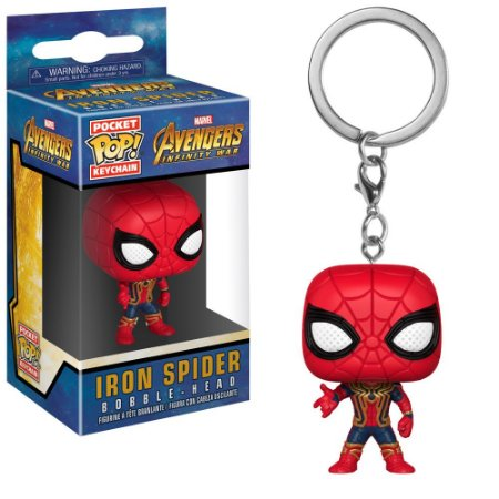Funko Pop!  Keychain Marvel Infinity Iron Spider