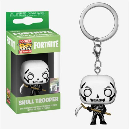 Funko Pop! Keychain Fortnite Skull Trooper