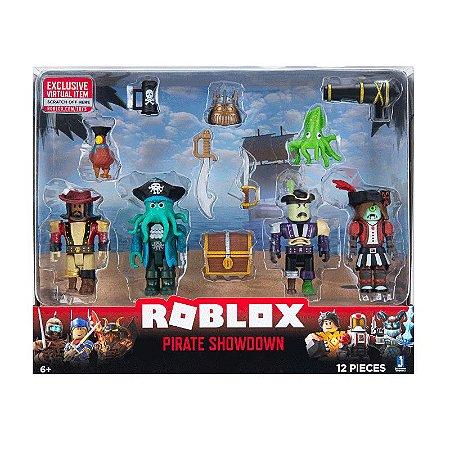 Roblox Pirate Showdown - Pack com 4 figuras