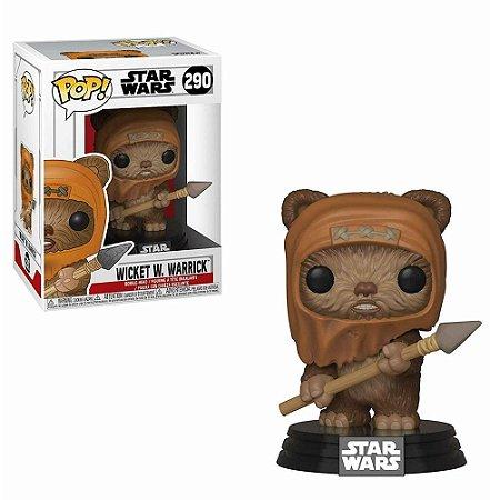Funko Pop! - Star War: Return of The Jedi - Wicket W.Warrick #290