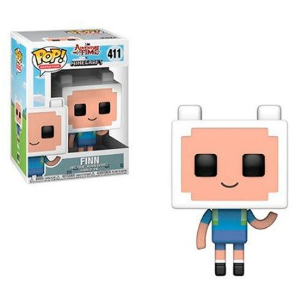 Funko Pop! Adventure Time Minecraft - Finn #411