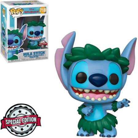 Funko Pop! Disney Lilo & Stitch Exclusive - Hula Stitch #718