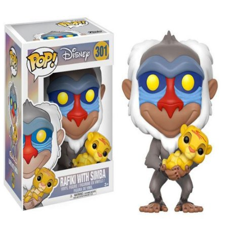 Funko Pop! Disney - Lion King - Rafiki #301
