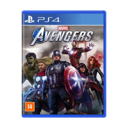 Jogo Marvel's Avengers - PS4
