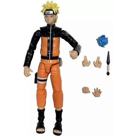 Boneco Articulado Naruto Uzumaki - Naruto Shippuden - Anime Heroes - Bandai