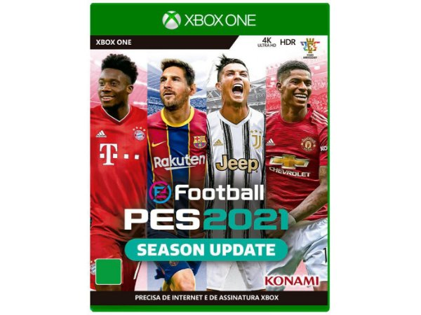 Jogo eFootball Pro Evolution Soccer 2021 Season Update - Xbox One (Pes 21)