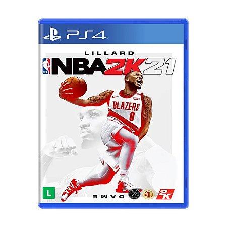 Jogo NBA 2K21 - PS4