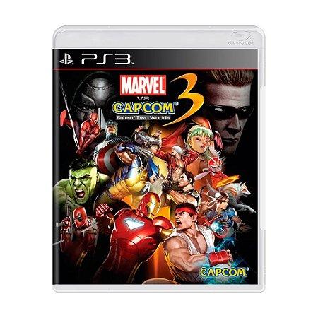 Jogo Marvel Vs Capcom 3: Fate of Two Worlds - PS3