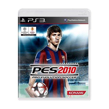 Jogo Pro Evolution Soccer (PES) 2010 - PS3