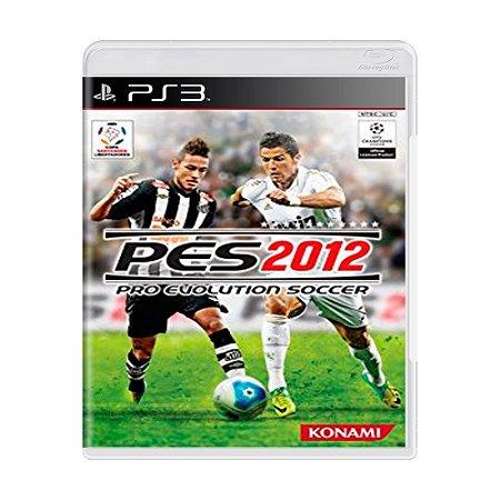 Jogo Pro Evolution Soccer (PES) 2012 - PS3