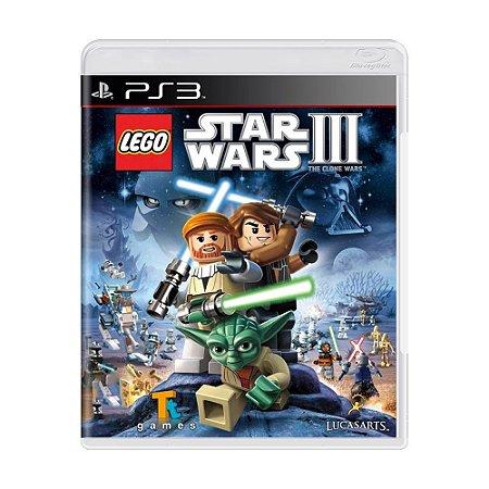 Jogo Lego Star Wars 3 : The Clone Wars - PS3