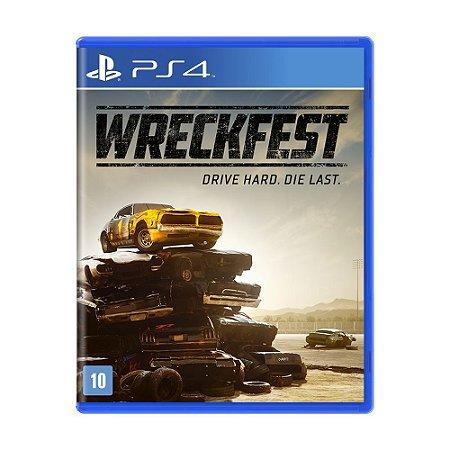 Jogo Wreckfest - PS4