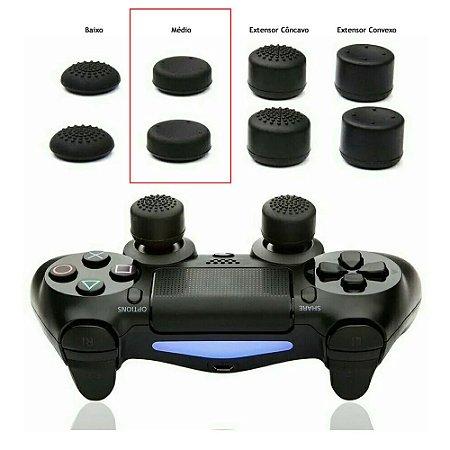 Par Grip Analógico Médio Xbox e Playstation - Cores Sortidas