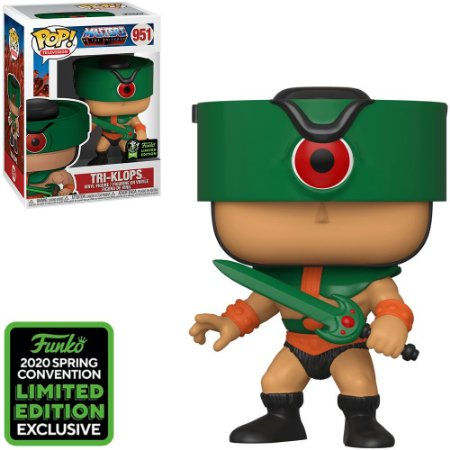 Funko Pop -  Masters Of The Universe - Tri-Klops Comic Con Emerald 951