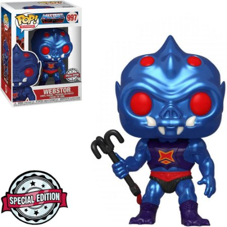 Funko Pop - Masters Of The Universe - Webstor Metalic Exclusivo 997