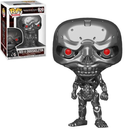 Funko Pop - Terminator Dark Fate - Rev-9 Endoskeleton 820