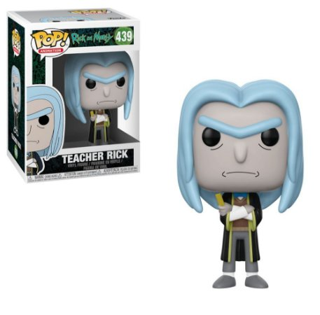 Funko Pop - Rick Morty - Teacher Rick 439
