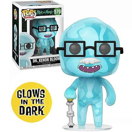 Funko Pop - Rick Morty - Dr Xenon Bloom 570 Brilha no Escuro