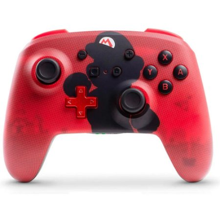 Controle Nintendo Switch Wireless sem fio Enhanced Super Mario PowerA