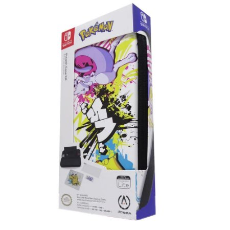 Case  Nintendo Switch Lite Stealth Kit Pokemon Battle 2303 PowerA