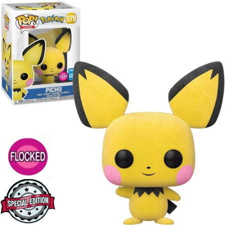 Funko Pop - Pokemon - Pichu Flocked Exclusivo 579