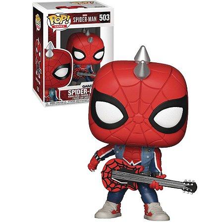 Funko Pop - Marvel Spider-Man - Spider Man Punk Exclusivo 503