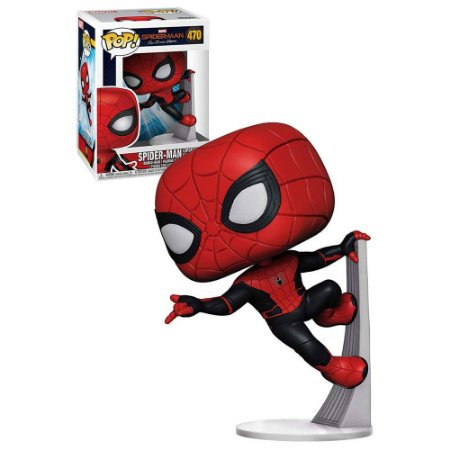 Funko Pop - Marvel Spider Man Far From Home - Spider Man Upgraded Suit 470