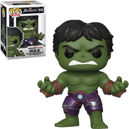 Funko Pop - Marvel Avengers Game Verse- Hulk 629