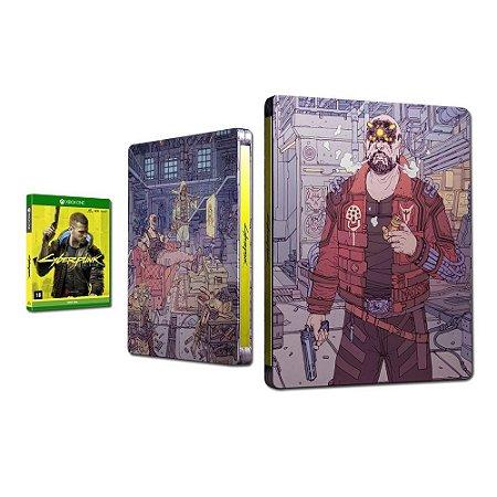 Jogo Cyberpunk 2077 - Steelbook Maelstrom - Xbox One