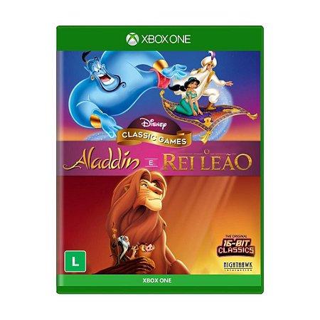 Jogo Disney Aladdin e Rei Leão - Xbox One