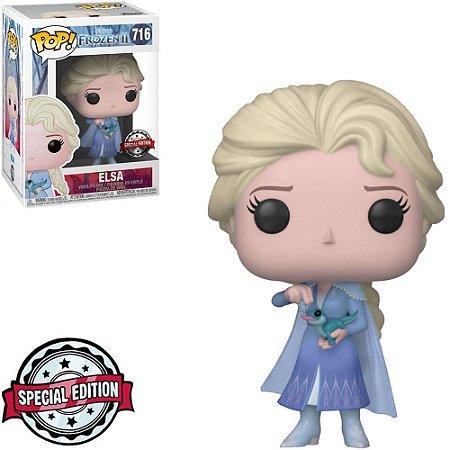 Funko Pop - Disney Frozen 2 - Elsa Salamander Exclusivo 716