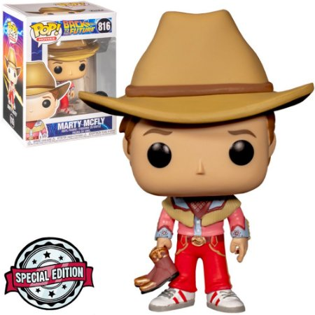 Funko Pop - Back To The Future - Marty Mcfly Exclusivo 816