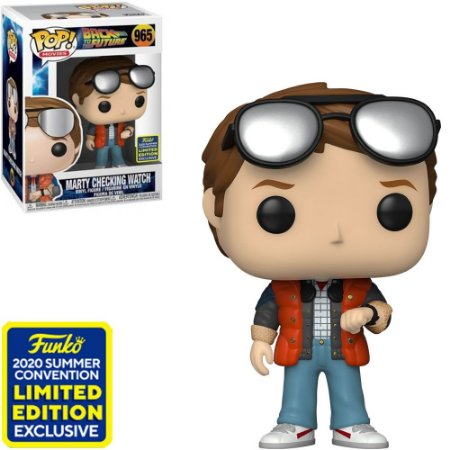 Funko Pop! - Back To The Future - Marty Mcfly Checking Watch 965