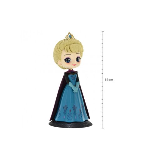 Action Figure Qposket Disney - Elsa Coronation - Frozen