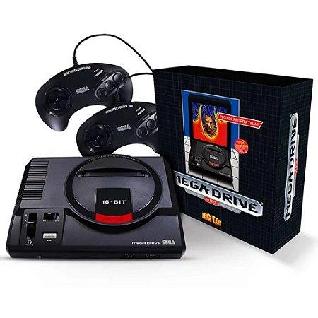 Console Mega Drive 2 Controles 22 jogos na memória + entrada para cartucho - Tectoy