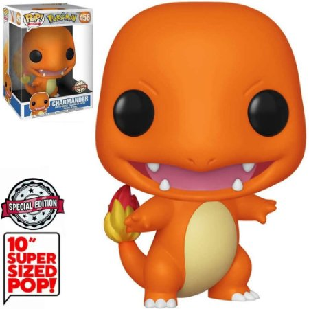 Funko Pop Pokemon Super Sized 10 Chamander Exclusivo 456