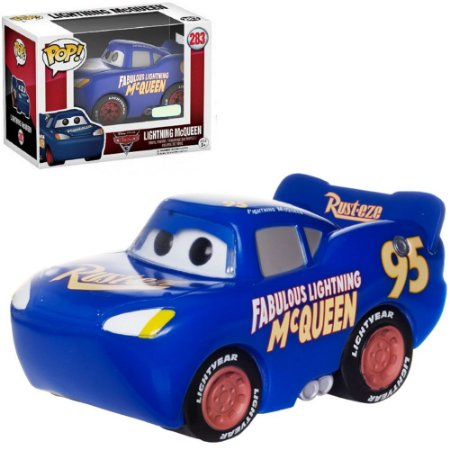 Funko Pop Cars Relâmpago Mcqueen Blue Exclusivo 283